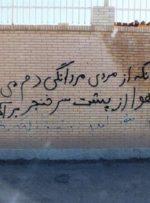 دیوار های پر از سیاست