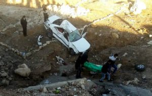 سرپرست اورژانس پیش بیمارستانی و مدیریت ح یک کشته و دو مصدوم در پی واژگونی خودرو پژو پارس