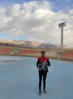 ورزشکار یاسوجی مسافت ۱۲کیلومتری را به عشق سالگرد شهادت سردار دلها طی کرد