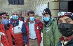 همراهی کوهنوردان با زلزله زدگان سی سخت