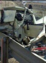 ۳ کشته و زخمی براثر برخورد دو خودرو در جاده کمر بندی یاسوج