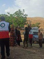 امداد رسانی هلال احمر به ۷۰۰ خانوار سیل زده کهگیلویه وبویراحمد