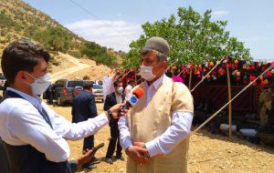 حضور معاون عمرانی استاندار؛     ۵۰۰ پنل خورشیدی بین عشایر کهگیلویه و بویراحمد توزیع شد