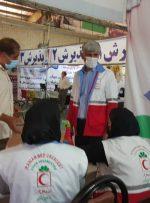 بازدید سرزده سرپرست معاونت امور جوانان جمعیت هلال احمر از مراکز واکسیناسیون کویید۱۹