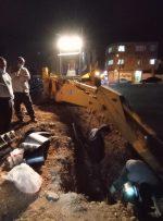 گودبرداری در خیابان باقرخان یاسوج حادثه آفرید